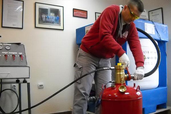 سیستم اطفای حریق اتوماتیک گازی FM200