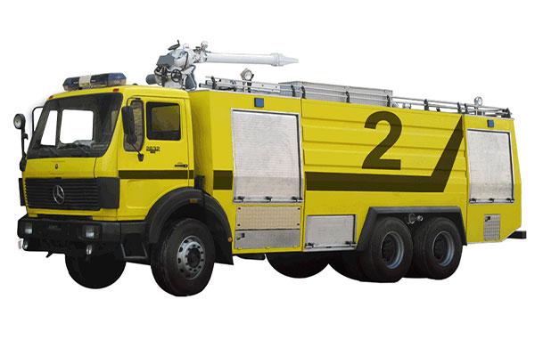 انواع ماشین های آتش نشانی فزودگاهی