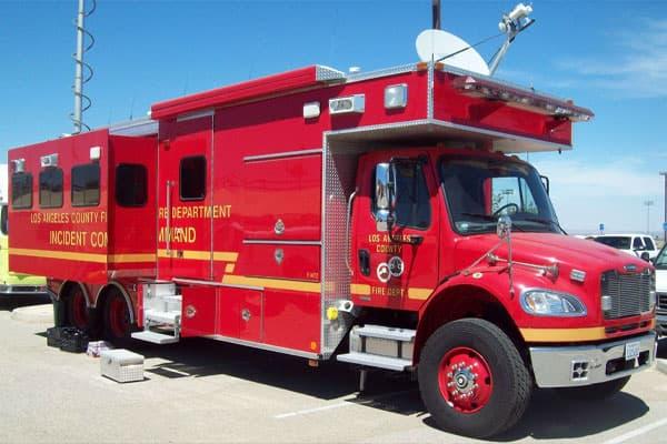 انواع ماشین آتش نشانی فرماندهی