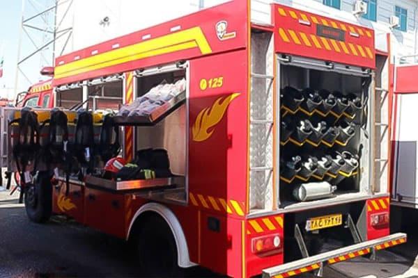 انواع ماشین آتش نشانی نجات حوادث ویژه