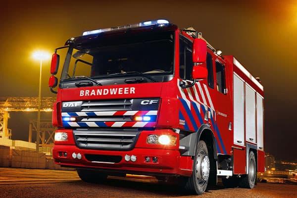انواع ماشین آتش نشانی