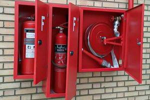 مهمترین متعلقات جعبه آتش نشانی