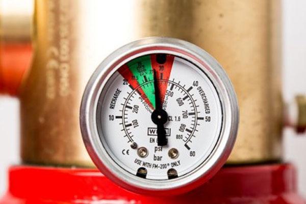 درجه کپسول آتش نشانی (مانومتر) چیست؟
