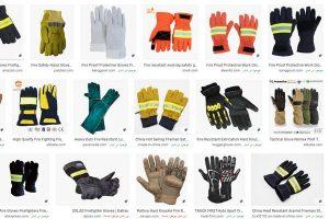 دستکش ایمنی آتش نشانی