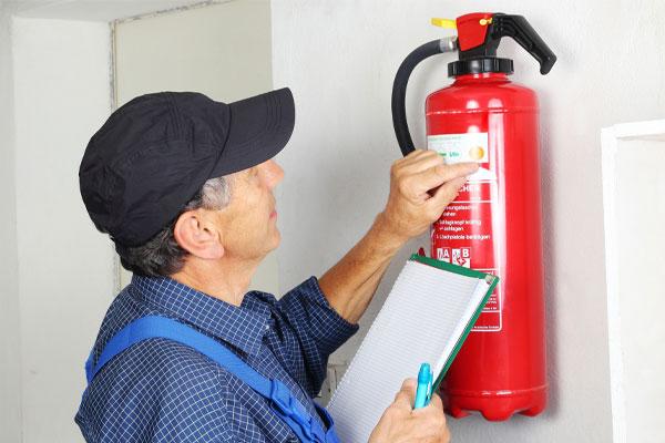 بهترین زمان بازرسی و شارژ کپسول آتش نشانی