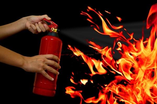 شارژ کپسول آتش نشانی با حمل رایگان
