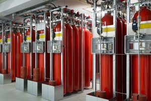 سیستم اطفاء حریق گازی