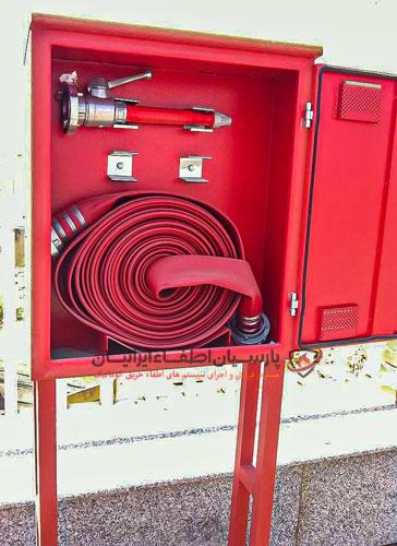 جعبه آتش نشانی(Fire Box) ایستاده فلزی