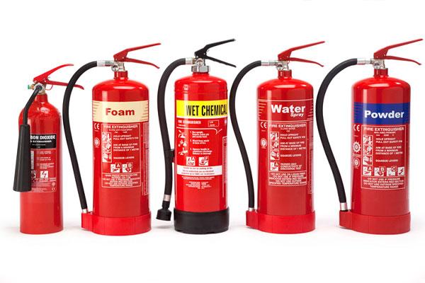 انواع کپسول آتش نشانی و کاربرد آنها