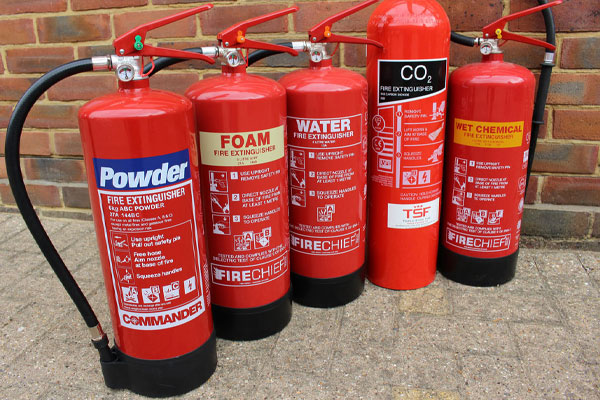 یونیت شارژ کپسول آتش نشانی