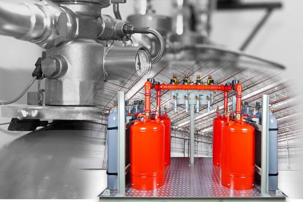 اطفاء حریق اتوماتیک گازی