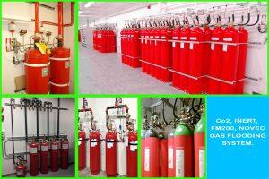 اطفاء حریق گازی